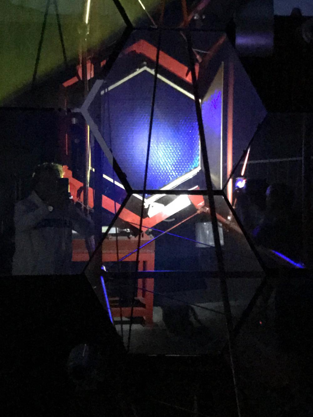 """Krzemowe """"oko"""" kamery teleskopu SST-1M."""
